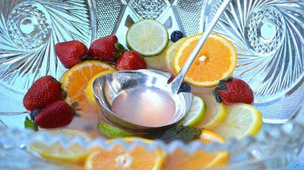 柑橘類といちごの画像
